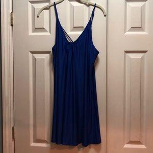 Brand new royal blue chemise!